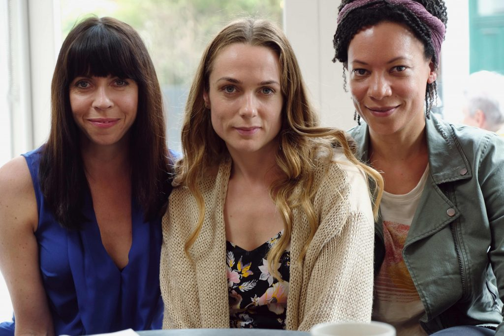L to R: Alison (Eileen Walsh), Laura (Kerry Condon) and Katie (Nina Sosanya)