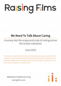 Cover of We Need To Talk About Caring report