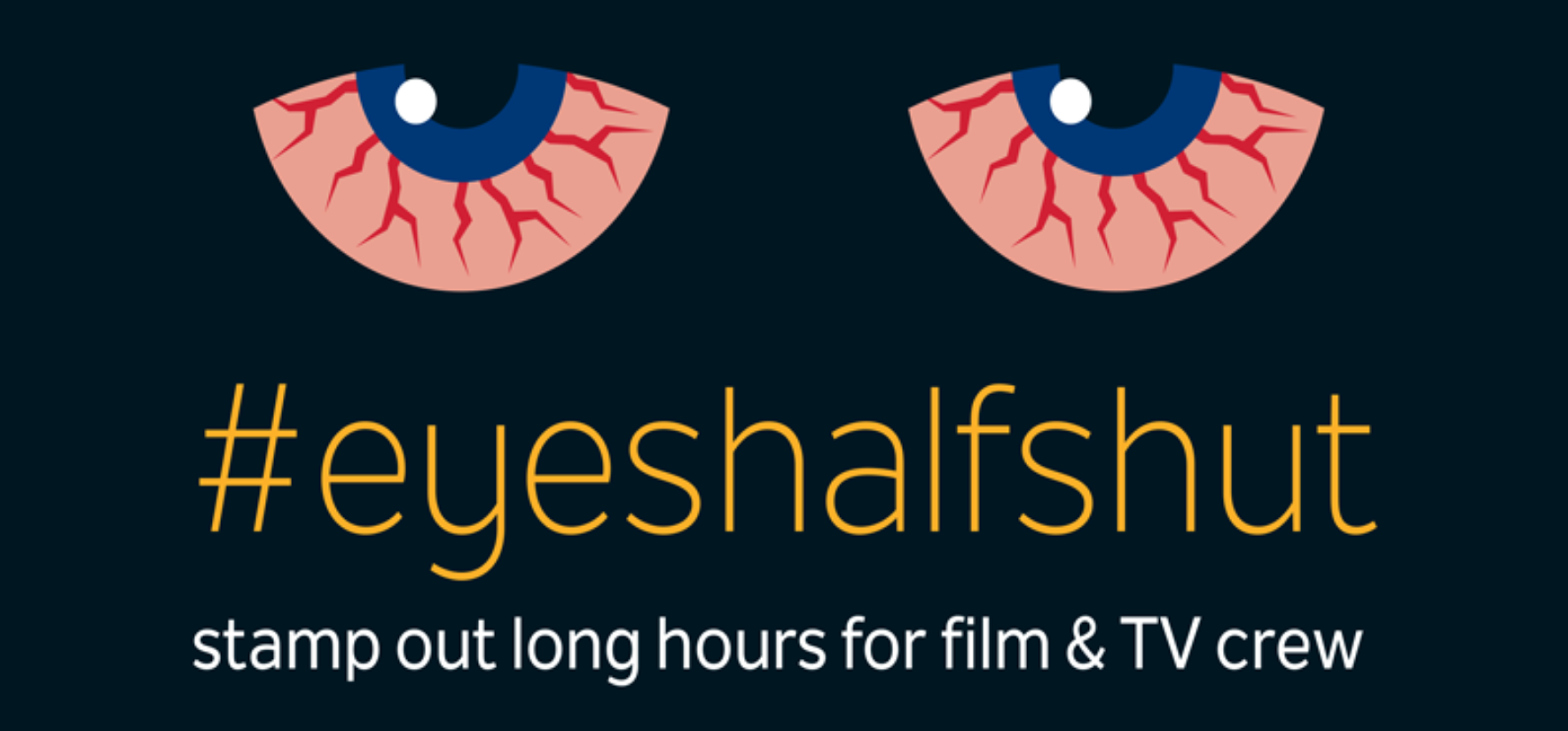 Logo and link for Eyes Half Shut from BECTU