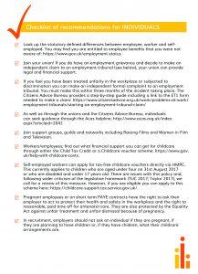Checklist for individuals (pdf)