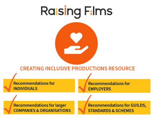 The Raising Films Creating Inclusive Productions Resource