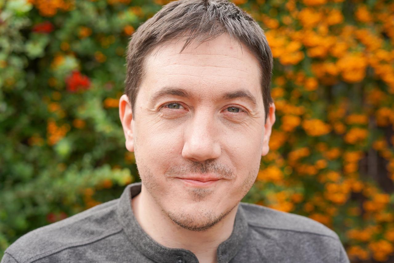 Photo of filmmaker David Proud